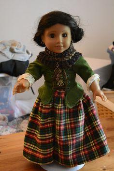 American girl Scottish Highland Outlander by hudathotjewelry