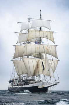 I was sailing on her if this was taken during tall Ships races 2015! Lord Nelson,Belfast tall ships race 2015,photos of tall ships