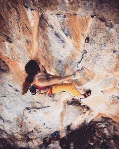 Instagram Photo by @lenadrapella: : @paolosartophoto | had so much fun climbing and sailing around Kalymnos island with @vertical_sailing_tour ! I think we made a pretty good Italian/American/polish team ;) Here trying a really nice 7a on Telendos island called Nymph. #climbing_is_my_passion #climbing_pictures_of_instagram #climbing #climbing_worldwide #climbingisbliss #timetoclimb #doyouclimb #vengachica #outdoorwomen #outdoorphotography #womenrockclimbing #ladyclimbers #girlswhoclimb…