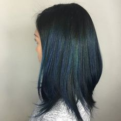 """peacock"" color-- i want to color my hair!!! this is not too ostentatious..."