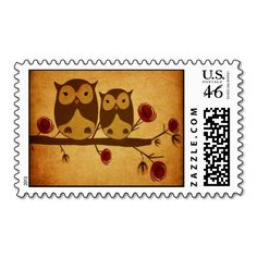 Owls Postage [Are they real stamps?]
