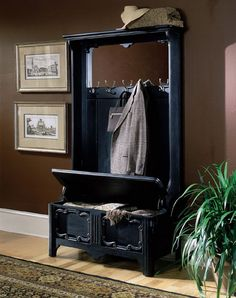 Entry+Hall+Tree | Have Extra Storage Near The Door With Placing Hall Tree Bench