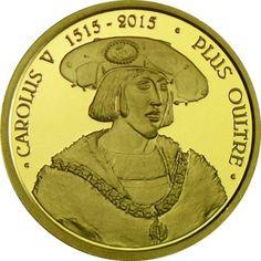 25 Euro Gold Kaiser Karl V. PP