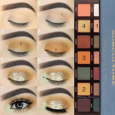 Gorgeous Makeup: Tips and Tricks With Eye Makeup and Eyeshadow – Makeup Design Ideas Eye Makeup Steps, Smokey Eye Makeup, Skin Makeup, Eyeshadow Makeup, Smokey Eyeshadow, Eyeshadow Palette, Eye Palette, Eyeshadow Steps, Brown Eyeshadow Tutorial