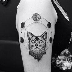 My Wiccan tattoo