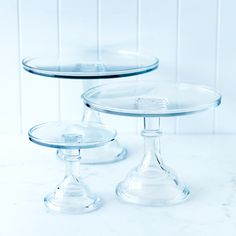 clear glass cake stand - small - general store - donna hay