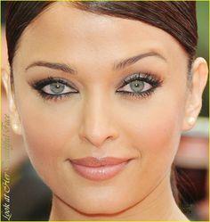 Aishwarya Rai ~ Beautiful Natural Makeup