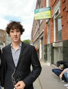 #BenedictCumberbatch during #SHERLOCK