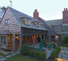 Love a shingled home...Cape Cod architecture...
