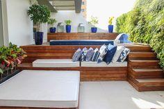 Hot Tub Deck, Hot Tub Backyard, Swimming Pools Backyard, Swimming Pool Designs, Small Indoor Pool, Outdoor Spaces, Outdoor Living, Small Pool Design, Spa Interior