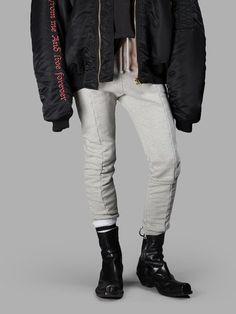 VETEMENTS Vetements Men'S Grey Vetements Sweatpants. #vetements #cloth #trousers