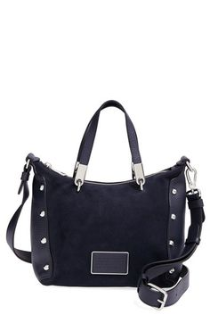 MARC BY MARC JACOBS 'Ligero Nano Ninja' Suede & Leather Crossbody Bag at Nordstrom.com.