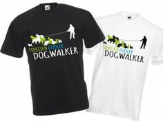 Fan-Shirts für HundefreundeHundefreund Unisex T-Shirt: DOGWALKER 2.0