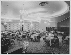 In the Fontainebleau Hotel Was Irrepressibly Glamorous - Monochromes - Curbed National Miami Beach Hotels, South Beach Miami, 1950s Design, Vintage Interiors, Aesthetic Themes, Library Of Congress, Monochrome, Architecture Design, Florida