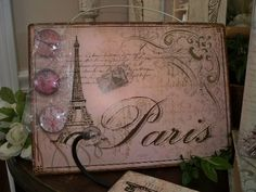Paris magnetic board Something Old, Painted Furniture, Magnets, Magnetic Boards, Idea Box, Jet Plane, Paris, Cool Stuff, Projects
