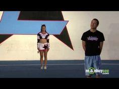 Beginner Cheerleading Jumps Cheer Jumps, Cheerleading Jumps, Cheer Stunts, Cheer Dance, Softball Pictures, Cheer Pictures, Cheer Hair, Cheer Bows, Tuck Jumps