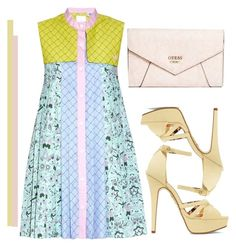 """""""Summer day"""" by nicolesynth ❤ liked on Polyvore featuring Charlotte Olympia and GUESS"""