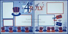 This week at Bitten by the Bug 2 we are celebrating Independence Day and everything PATRIOTIC! I designed this layout in Design Space using the Stand and Salute and Independence Day… 4th Of July Fireworks, Fourth Of July, Scrapbook Paper Crafts, Scrapbook Cards, Scrapbook Page Layouts, Scrapbooking Ideas, Cricut Cartridges, Card Making Kits, Baby Album