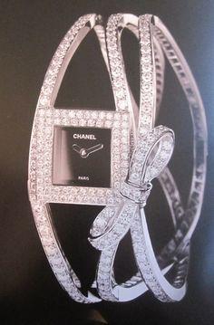 Chanel diamond watch ♥✤ Absolutely Beautiful!!