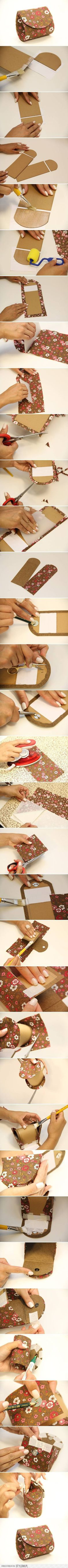 DIY Easy Money Pouch DIY Projects | UsefulDIY.com na Stylowi.pl