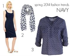 Spring has sprung. Your wardrobe is edited and your basics are sorted. What spring 2014 fashion trends in colour will you add to what you wear every day? Spring 2014, Summer 2014, Spring Summer, 2014 Fashion Trends, Spring Has Sprung, Fashion Inspiration, Dresses For Work, Navy, How To Wear