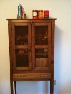 Old fashioned pie safe.