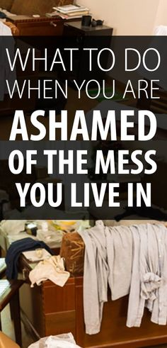 Ashamed of your messy house? You NEED this tip on how to finally clean up a terribly overwhelming mess. When I feel like I don& know where to start, this is what I do! Deep Cleaning Tips, Household Cleaning Tips, House Cleaning Tips, Diy Cleaning Products, Cleaning Solutions, Spring Cleaning, Cleaning Hacks, Speed Cleaning, Cleaning Checklist