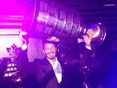 David with the Famous Stanley cup!!!