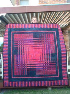 Convergence patchwork quilt