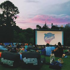 outdoor cinemas in botanical gardens melbourne ...Processed with VSCOcam with c1 preset