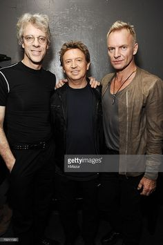 Stewart Copeland, Andy Summers and Sting of The Police