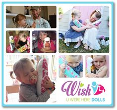 • WUWH Dolls are $42 each• WUWH Dolls are 32cm tall (white on the front with pic)• Girl material on the back (for girl owner)• Images are Heat bonded (machine washable and won't peel)• I choose the material for the backing of your doll, I use only the best and latest quality designer fabrics ( you can specify a colour if you would prefer to but i will choose the print, I only do single people dolls, no group shots or couples due to printing restrictions.NOTE: Wish U ...