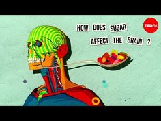 """Ever wonder exactly what it is that happens to your brain when your eat sugar? If not a little scary, as this TED-ed video explains."" -Organic Authority pass on… ""How sugar affects the brain - Nicole Avena"" Health Class, Health Lessons, Brain Health, Health Education, Health And Nutrition, Health And Wellness, Mental Health, Health Tips, Health Unit"