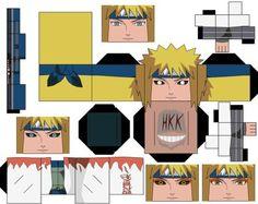Minato Namikaze by hollowkingking Origami Naruto, Instruções Origami, Box Template Printable, Anime Crafts, Minecraft Crafts, Paper Toys, Legos, Diy And Crafts, Deviantart