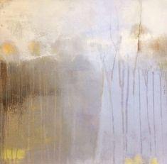 ' A breath of fresh air, ' by Tonie Rigby, acrylic on board, 52 cm sq.