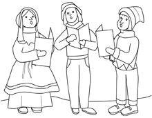 Χρωμάτισέ με! - Σελίδα 10 - Χριστουγεννιάτικα και Πρωτοχρονιάτικα σχέδια και παραστάσεις - Χρωματίζω με τις μπογιές μου! Color me - Παιδική γωνιά - Διάφορα διόλου αδιάφορα - Ρίξε μια ματιά! www.matia.gr