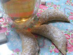 Cornes de gazelles au thé à la rose
