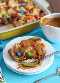 Ms Crispy Bread Pudding with Dulce de Leche Sauce ...