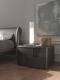 contemporary style lacquered wooden bedside table jazz letti_beds ... - Mobili Design Tulsa