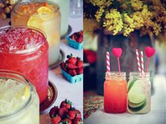 use of jars for a party