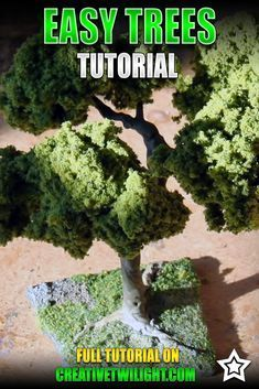 How to Make Wargaming Trees Easily This tutorial shows you how to make trees for your wargaming table with twist ties and some clump foliage. It's easy to do and looks great once painted. The River, Wargaming Table, Wargaming Terrain, Star Wars Halloween, Warhammer Terrain, 40k Terrain, Deck Box, Miniature Trees, Miniature Houses