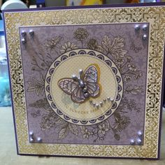 Kanban Magnificence Kanban Crafts, Card Crafts, Craft Projects, Sapphire, Frame, Cards, Decor, Picture Frame, Decoration