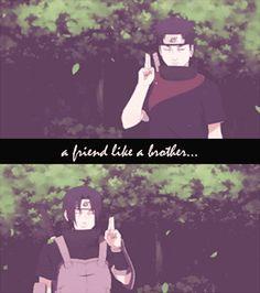 Naruto Shippuden - Itachi and Shisui - GIF