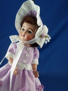 """""""Mon Beau Village"""" Frock Ensemble for the Loulotte Doll by CM #Unbranded"""