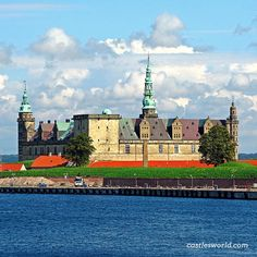 Kronborg Castle, Helsingør, Denmark Immortalized as Elsinore in William Shakespeare's play Hamlet, it is one of the most important Renaissance castles in Northern Europe and has been added to UNESCO's World Heritage Sites list in 2000