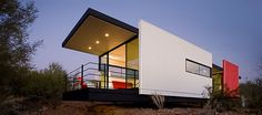Lindal Cedar Homes is now delivering the Mod.Fab, a modern Accessory Dwelling Unit (ADU) by the Frank Lloyd Wright School of Architecture.