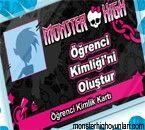 Monster High Öğrenci Kimlikleri