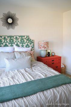 sarah m. dorsey designs: Guest Bedroom Updates