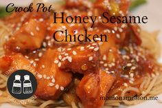 So school is in full swing, activities are piling on top of each other and the calendar is becoming your worst enemy. Let's be honest, we could all use a little help right about now! Take some time this weekend to get ahead with Jackie Brown's Mom on a Mission freezer recipe – sesame chicken. #sundaysupper #momlife #crockpot