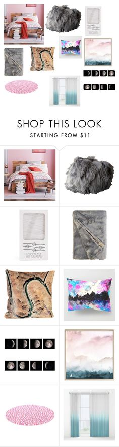 """""""Untitled #167"""" by thirdgrader9 ❤ liked on Polyvore featuring interior, interiors, interior design, home, home decor, interior decorating, West Elm, Forever 21 and Elise Flashman"""
